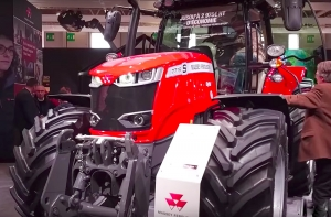 "Nowy Massey Ferguson 7719 S z nagrodą ""Machine of the year"""